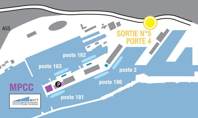 Visite msc meraviglia pour l 39 association marseille - Port embarquement croisiere marseille ...